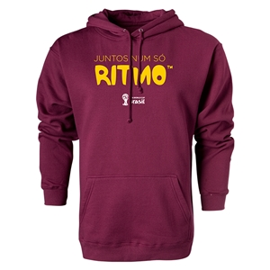 2014 FIFA World Cup Brazil(TM) Portugese All In One Rhythm Hoody (Maroon)