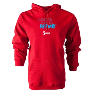 2014 FIFA World Cup Brazil(TM) Portugese All In One Rhythm Hoody (Red)
