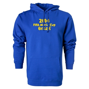2014 FIFA World Cup Brazil(TM) Logotype Hoody (Royal)