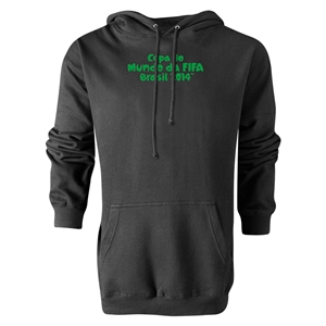 2014 FIFA World Cup Brazil(TM) Portugese Logotype Hoody (Black)