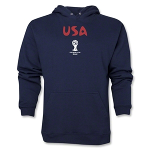 USA 2014 FIFA World Cup Brazil(TM) Men's Core Hoody (Navy)