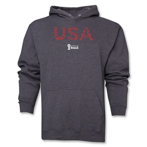 USA 2014 FIFA World Cup Brazil(TM) Men's Elements Hoody (Dark Grey)