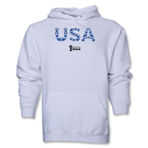 USA 2014 FIFA World Cup Brazil(TM) Men's Elements Hoody (White)