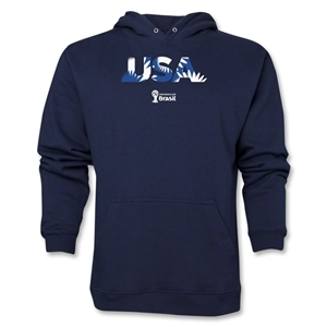USA 2014 FIFA World Cup Brazil(TM) Men's Palm Hoody (Navy)