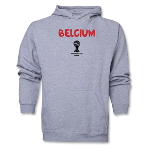 Belgium 2014 FIFA World Cup Brazil(TM) Men's Core Hoody (Ash)