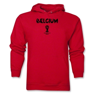 Belgium 2014 FIFA World Cup Brazil(TM) Men's Core Hoody (Red)