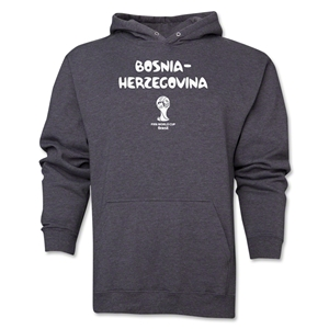 Bosnia-Herzegovina 2014 FIFA World Cup Brazil(TM) Men's Core Hoody (Dark Grey)