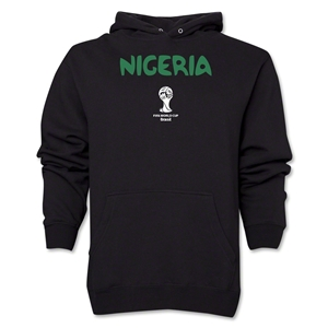 Nigeria 2014 FIFA World Cup Brazil(TM) Men's Core Hoody (Black)