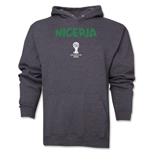 Nigeria 2014 FIFA World Cup Brazil(TM) Men's Core Hoody (Dark Grey)