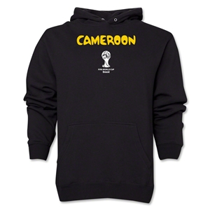 Cameroon 2014 FIFA World Cup Brazil(TM) Men's Core Hoody (Black)