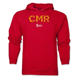 Cameroon 2014 FIFA World Cup Brazil(TM) Men's Elements Hoody (Red)