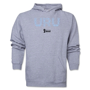 Uruguay 2014 FIFA World Cup Brazil(TM) Men's Elements Hoody (Ash)