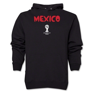 Mexico 2014 FIFA World Cup Brazil(TM) Men's Core Hoody (Black)