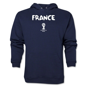France 2014 FIFA World Cup Brazil(TM) Men's Core Hoody (Navy)
