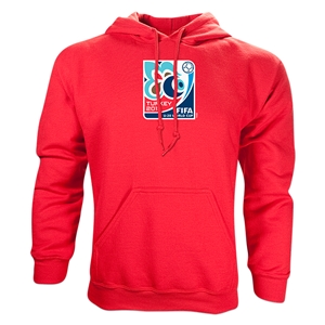 FIFA Men's U20 World Cup 2013 Emblem Hoody (Red)