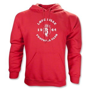 LOSC Lille Distressed Hoody (Red)