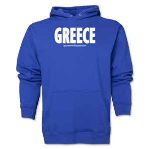 Greece Powered by Passion Hoody (Royal)