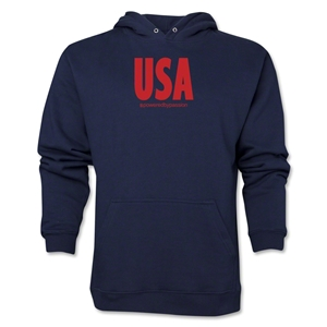 USA Powered by Passion Hoody (Navy)