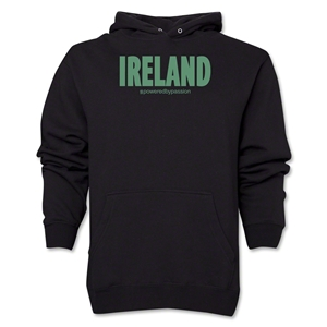 Ireland Powered by Passion Hoody (Black)