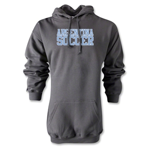 Argentina Soccer Supporter Hoody (Gray)