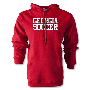 Georgia Soccer Supporter Hoody (Red)