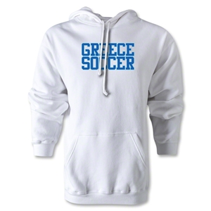 Greece Soccer Supporter Hoody (WHite)