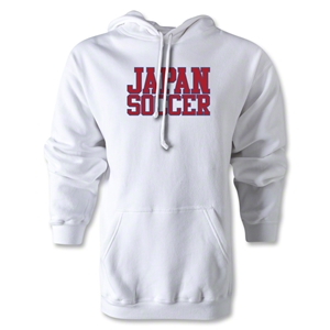 Japan Soccer Supporter Hoody (White)