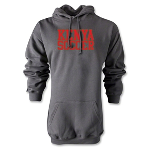 Kenya Soccer Supporter Hoody (Gray)