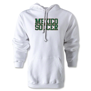 Mexico Soccer Supporter Hoody (White)
