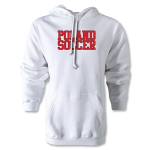 Poland Soccer Supporter Hoody (White)