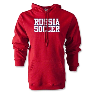 Russia Soccer Supporter Hoody (Red)