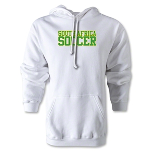 South Africa Soccer Supporter Hoody (White)