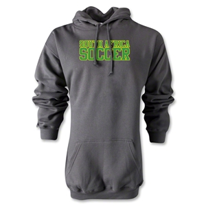 South Africa Soccer Supporter Hoody (Gray)