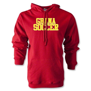 Ghana Soccer Supporter Hoody (Red)
