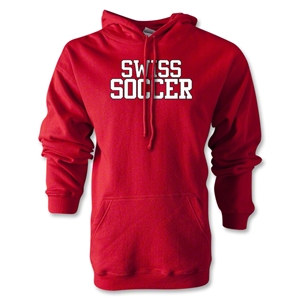 Swiss Soccer Supporter Hoody (Red)