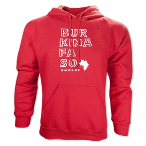 Burkina Faso Country Hoody (Red)