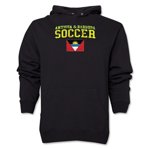 Antigua & Barbuda Soccer Hoody (Black)