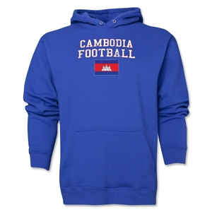 Cambodia Football Hoody (Royal)