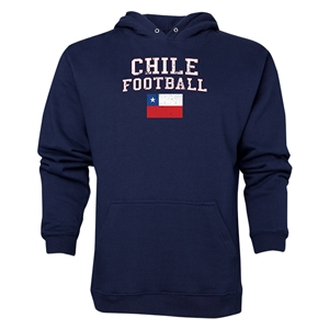 Chile Football Hoody (Navy)