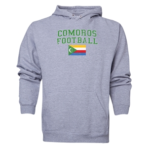 Comoros Football Hoody (Ash)