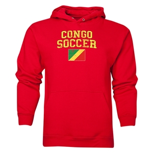 Congo Soccer Hoody (Red)