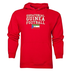 Equatorial Guinea Football Hoody (Red)