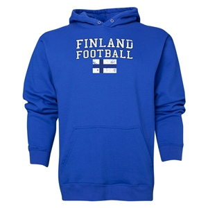 Finland Football Hoody (Royal)