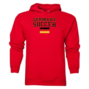 Germany Soccer Hoody (Red)