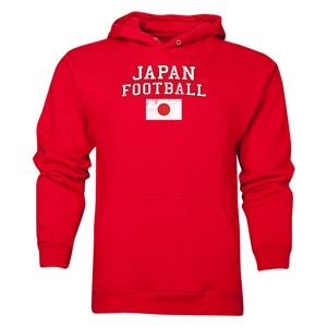 Japan Football Hoody (Red)