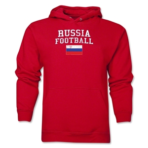 Russia Football Hoody (Red)