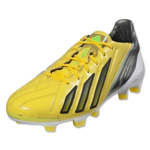 adidas F50 adizero TRX FG miCoach compatible Leather (Vivid Yellow/Black)