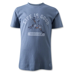 Life is Good Youth Jake Soccer T-Shirt