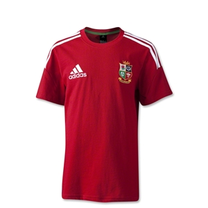 British and Irish Lions 2013 Youth T-Shirt (Red)
