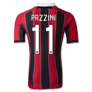 AC Milan 12/13 PAZZINI Authentic Home Soccer Jersey